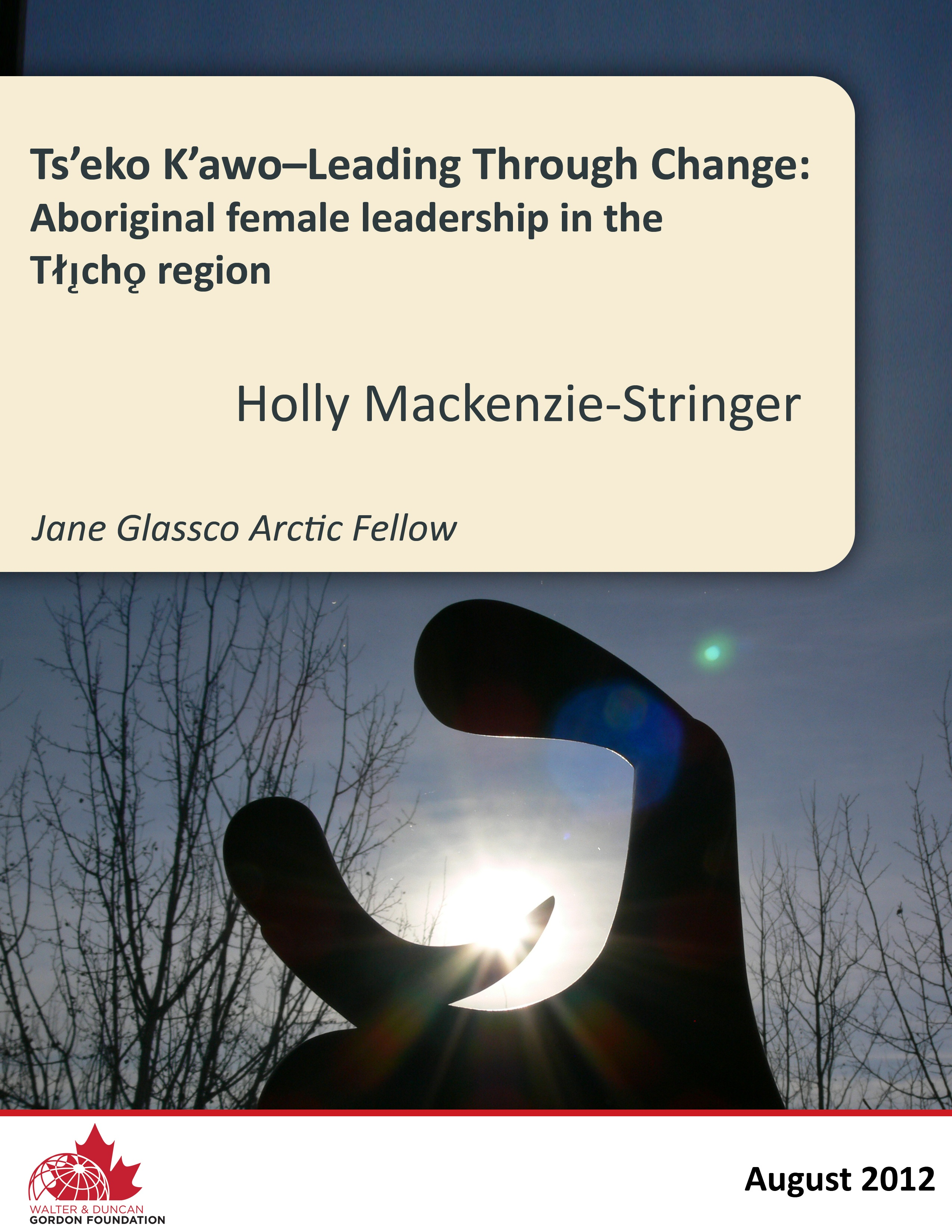 JGNF_2012_Holly_LeadingThroughChange_COVERONLY