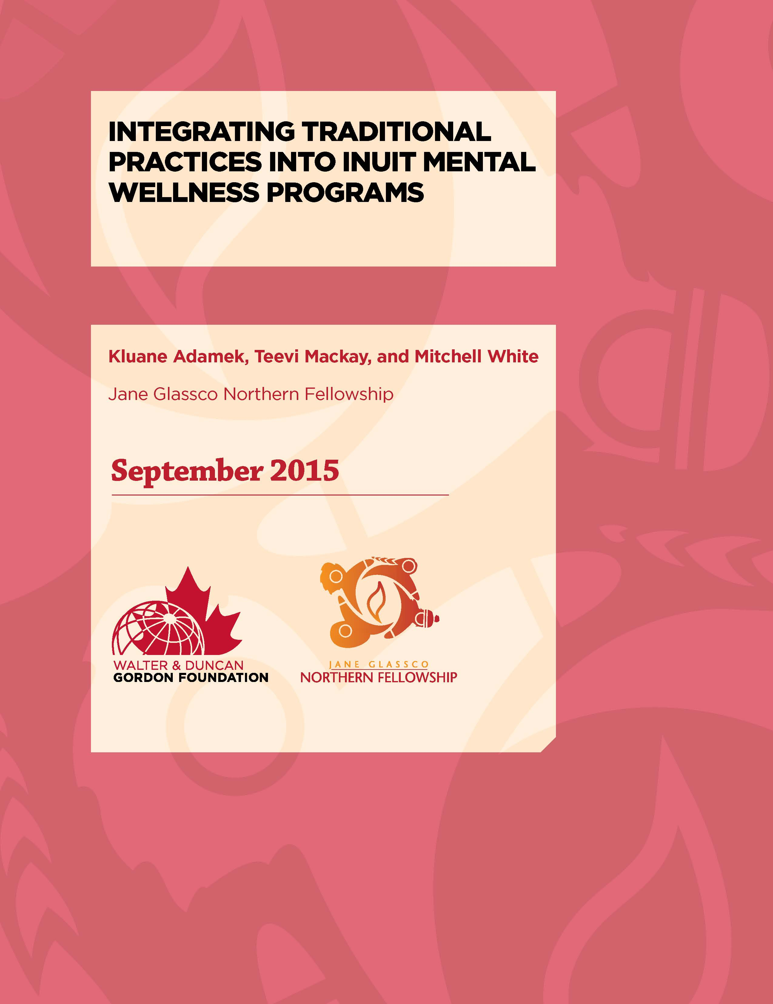 JGNF_2015_Group_IntegratingTraditionalPractices_COVERONLY